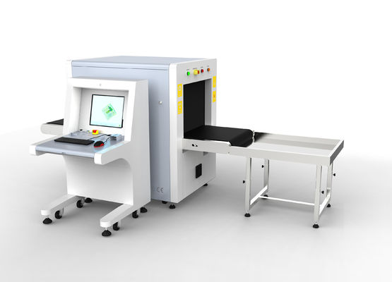 Linux System Luggage Scanning Machine , Small X Ray Scanner For Shopping Malls