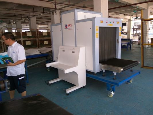 Dual Energy Parcel X Ray Machine With High Definition Images 0.22m/S Conveyor Speed supplier