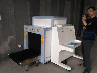 Dual Energy UK Detector X Ray Cargo Scanner Machine To Check Pallet Stable Performance