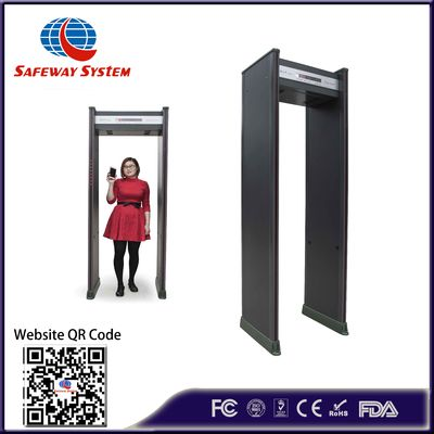 Professional Security Walk Through Metal Detector Door For Gymnasiums At300a