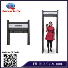 High Sensitivity Walk Through Metal Detector For Government Building Security
