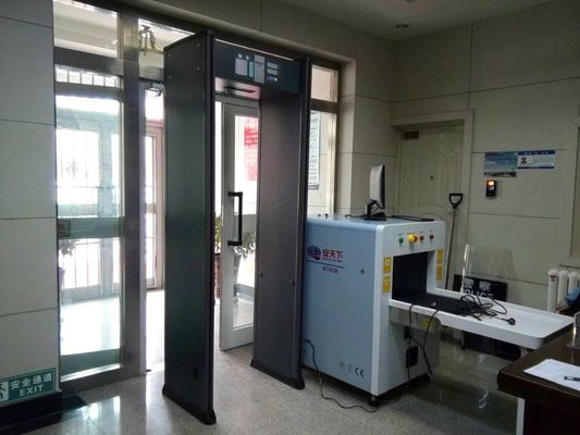 AT-IIIC Indoor Walk Through Security Scanners , Airport Security Metal Detectors