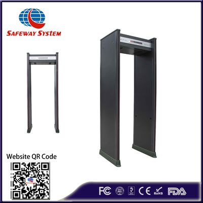 18 Zones Walk Through Metal Detector Security Gate Anti Interference:High Performance