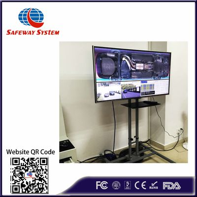 Multi Language Interface Under Vehicle Surveillance System For Bottom Detecting