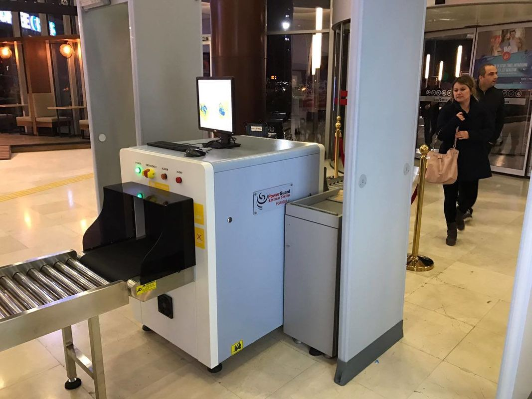 Single energy low price X-Ray Baggage Scanner for shopping malls, hotels, subways, church etc. supplier