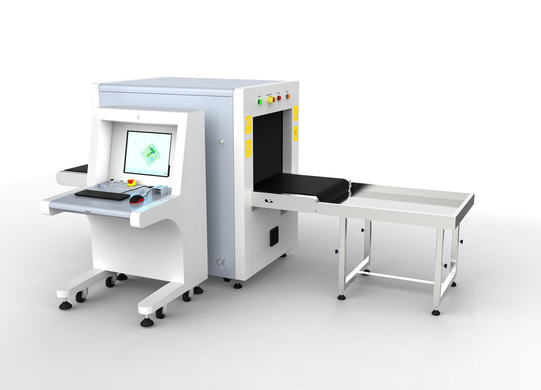 China Linux System Luggage Scanning Machine , Small X Ray Scanner For Shopping Malls factory