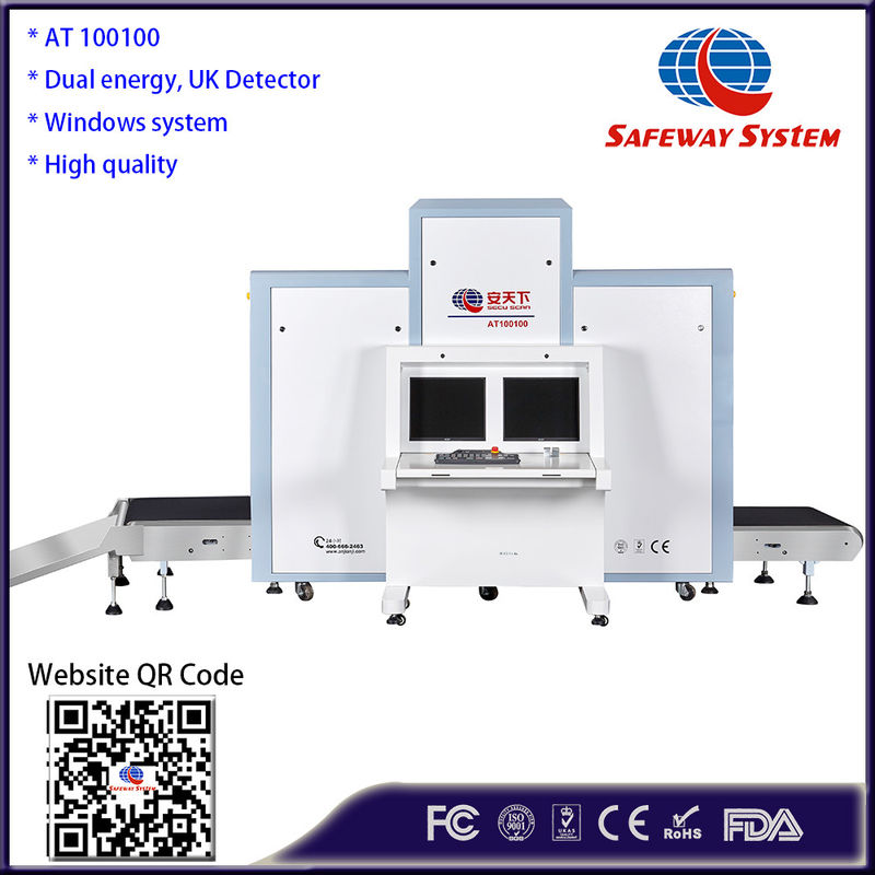 Strong Penetration Luggage X Ray Machine 1010*1003mm Tunnel Size CE Approval