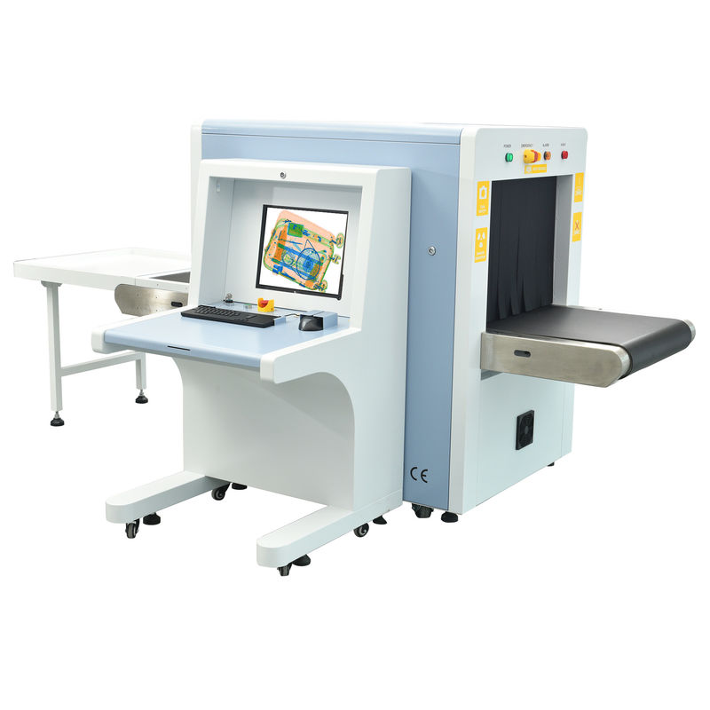 China Middle Size X Ray Baggage Scanner Machine High Penetration TH 6550 factory
