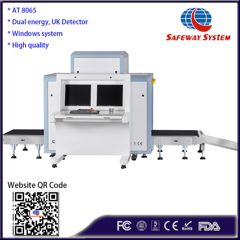 China UK Detector X Ray Baggage Inspection System ,Airport Luggage Scanner Middle Size factory