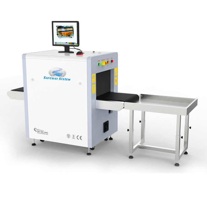 China Safety Digital X Ray Baggage Scanner For Small Parcel And Handbag Inspection factory
