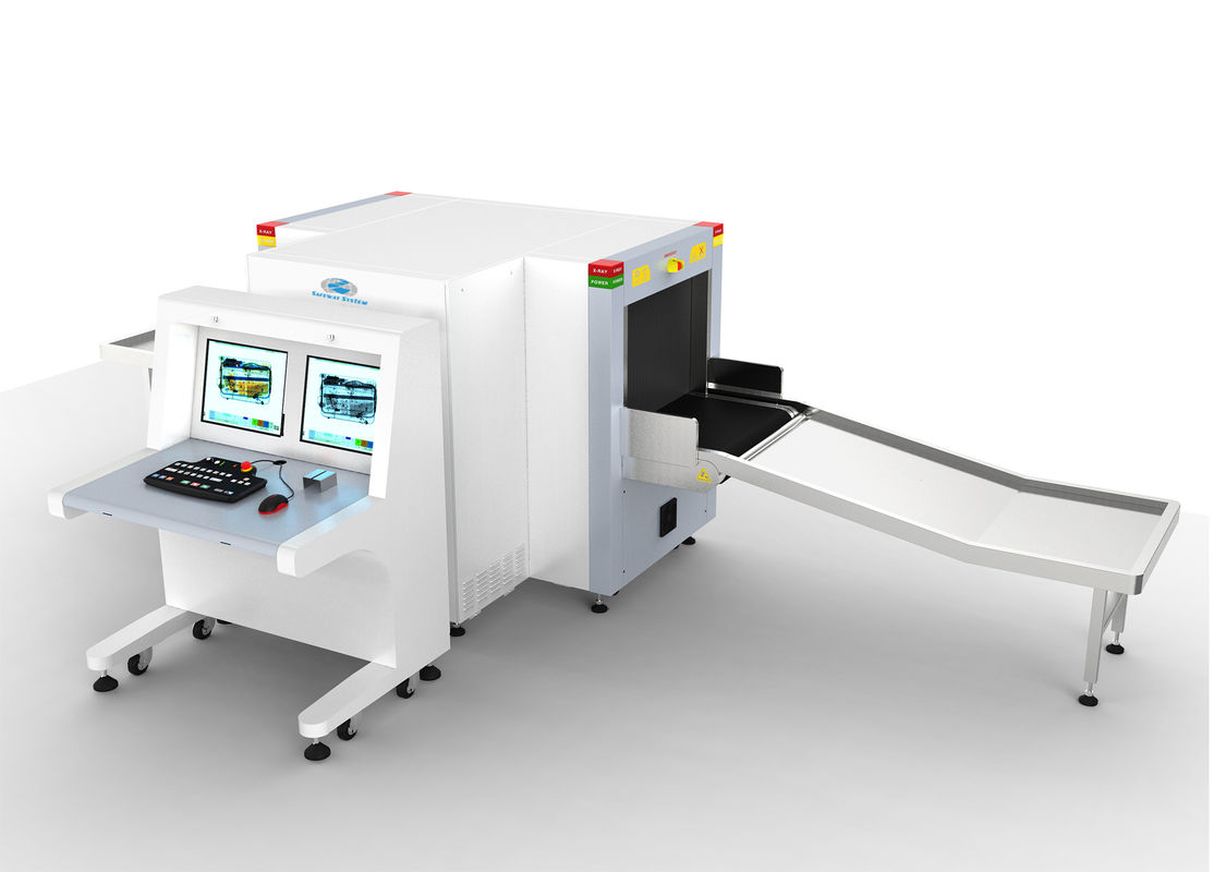China Two Generators Check X Ray Baggage Scanner At Airport Dual View 660*502mm Tunnel Size factory