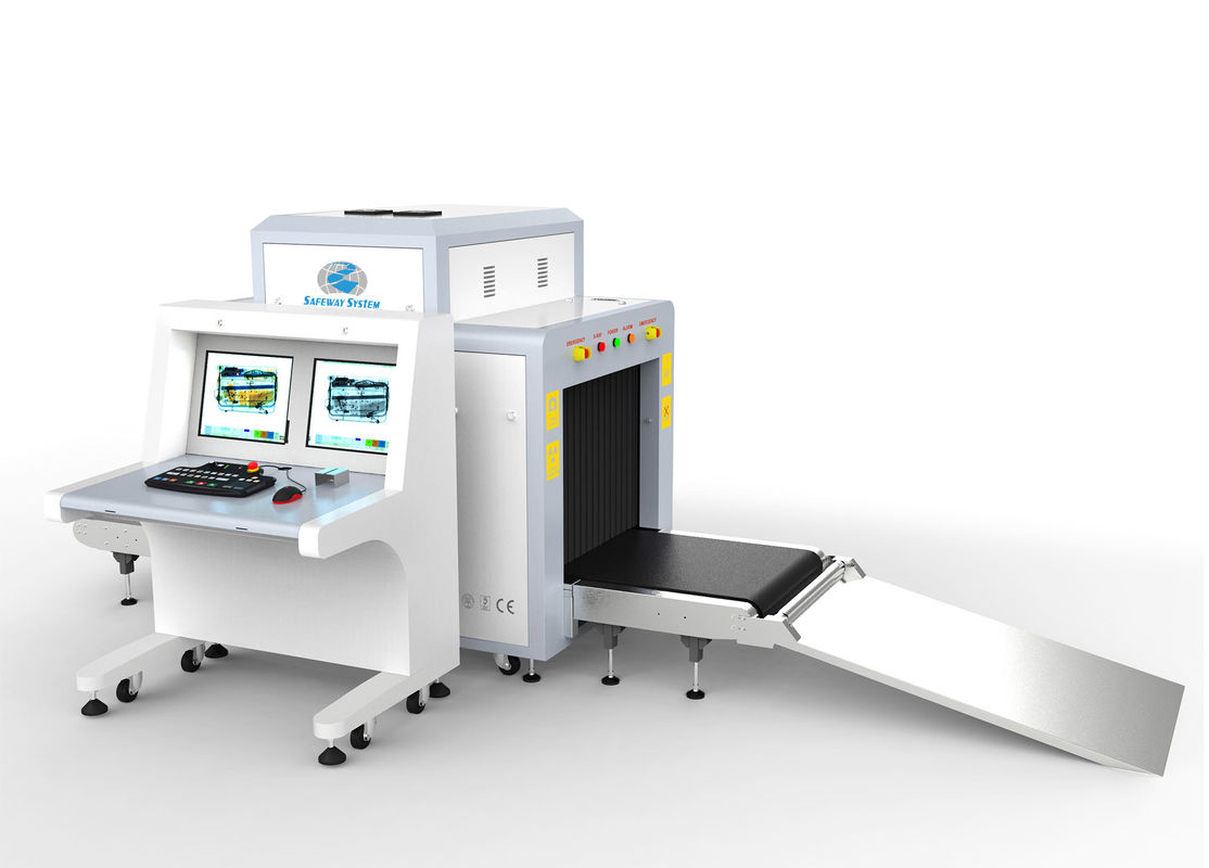 China Transportation X Ray Baggage Scanner System For Convention Centers At8065 factory