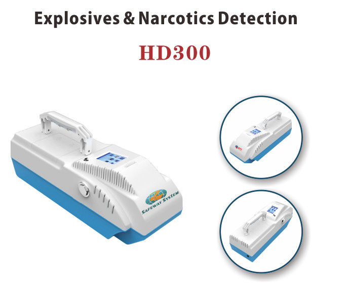 China Compact Handheld Drug Detector , Bomb Detection Devices Dual Module Inside factory