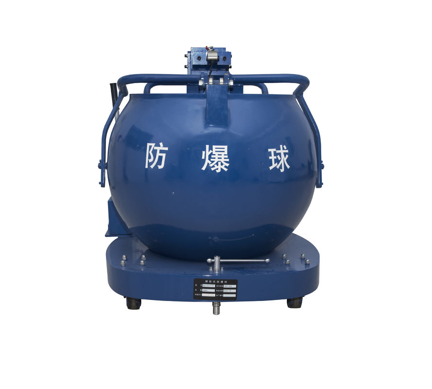 China Bomb Clearance EOD Tools 35mm Thickness Disposal Explosive Tank 680kg Weight factory