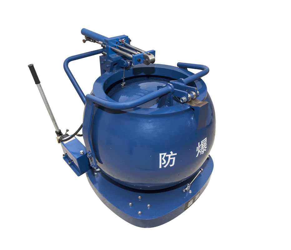 China Professional EOD Tools And Equipment Security Ball Type Explosive Disposal Tank factory