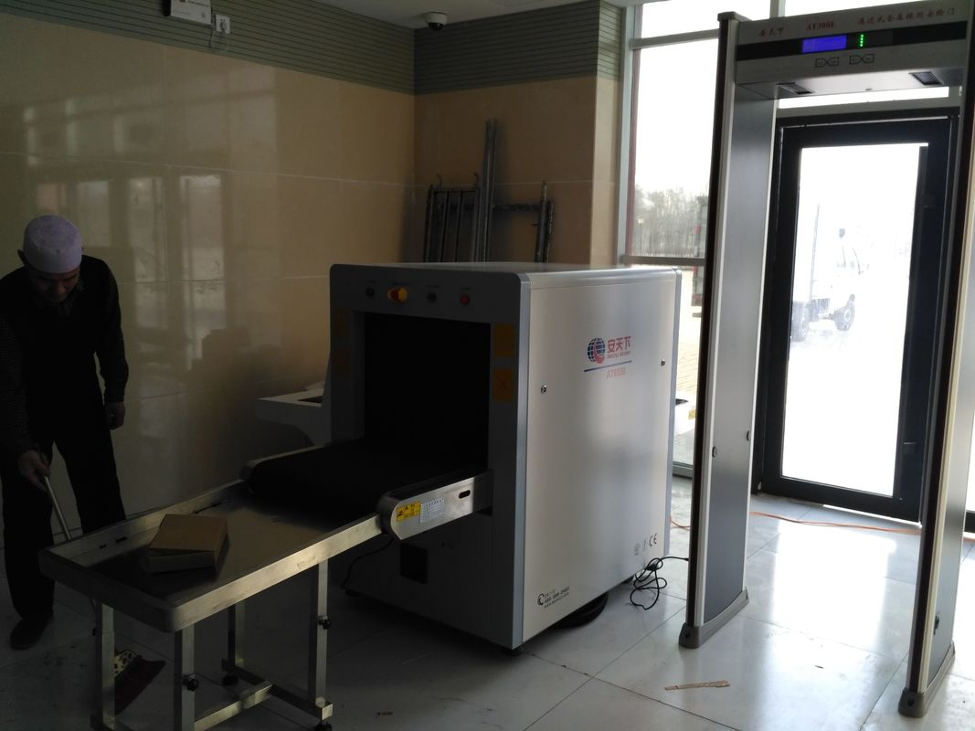 China Middle Size Parcel Scanner Machine High Penetration Low Radiation At6550 factory