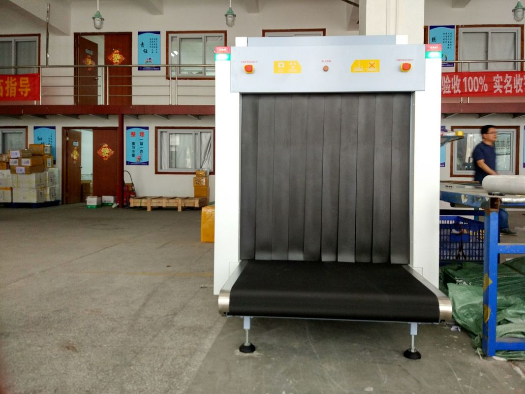 China 160kv Generator Airport X Ray Baggage Scanners 1005*1009mm Tunnel Size100100B factory