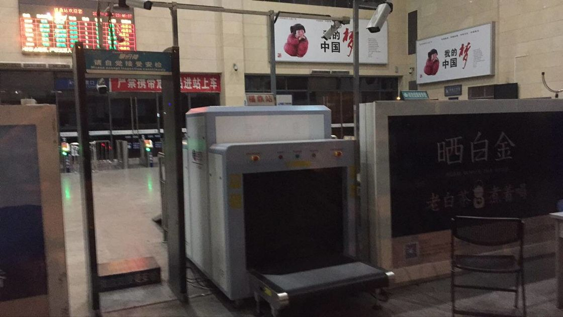 China Security Check X Ray Cargo Scanner For Convention Centers 800KG Conveyor Max Load factory