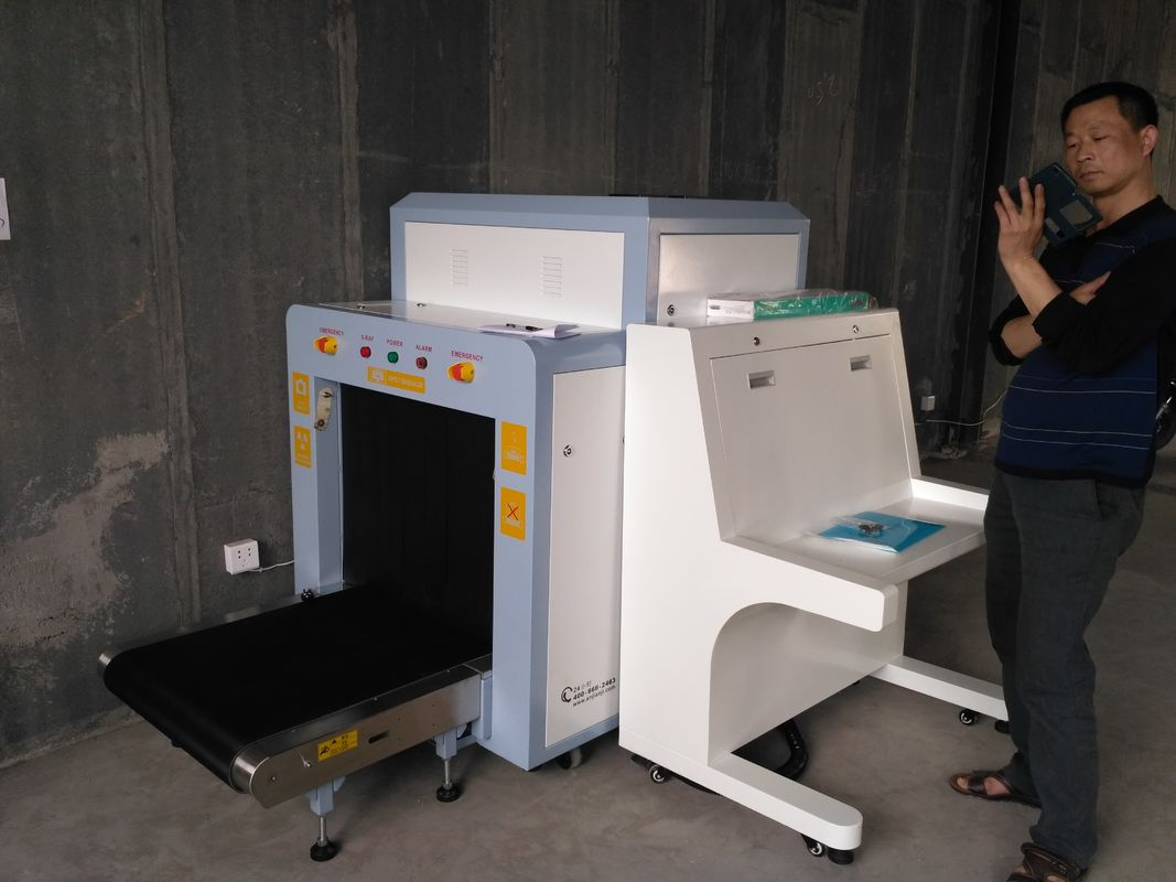 China Dual Energy UK Detector X Ray Cargo Scanner Machine To Check Pallet Stable Performance factory
