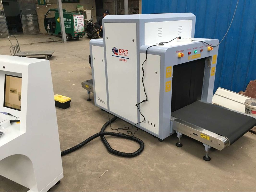 China Medium Tunnel Size X Ray Cargo Scanner Machine For Government Buildings 0.22m/S factory
