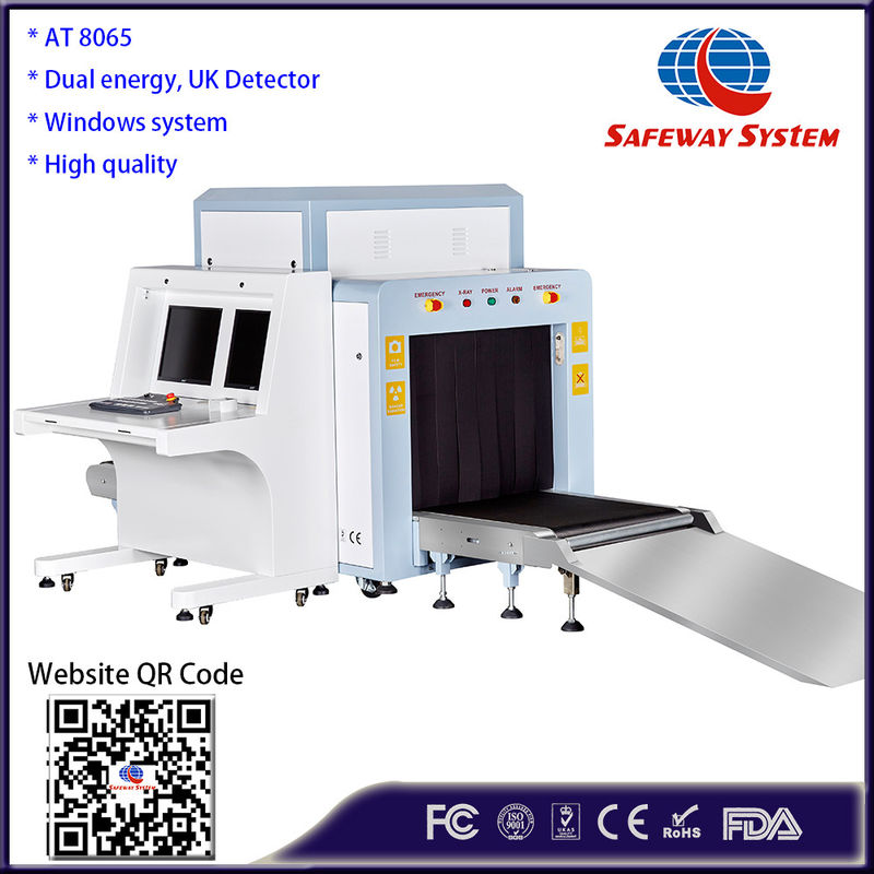 China UK Detector Luggage X Ray Security Scanner For Checking Pallet AT8065 factory
