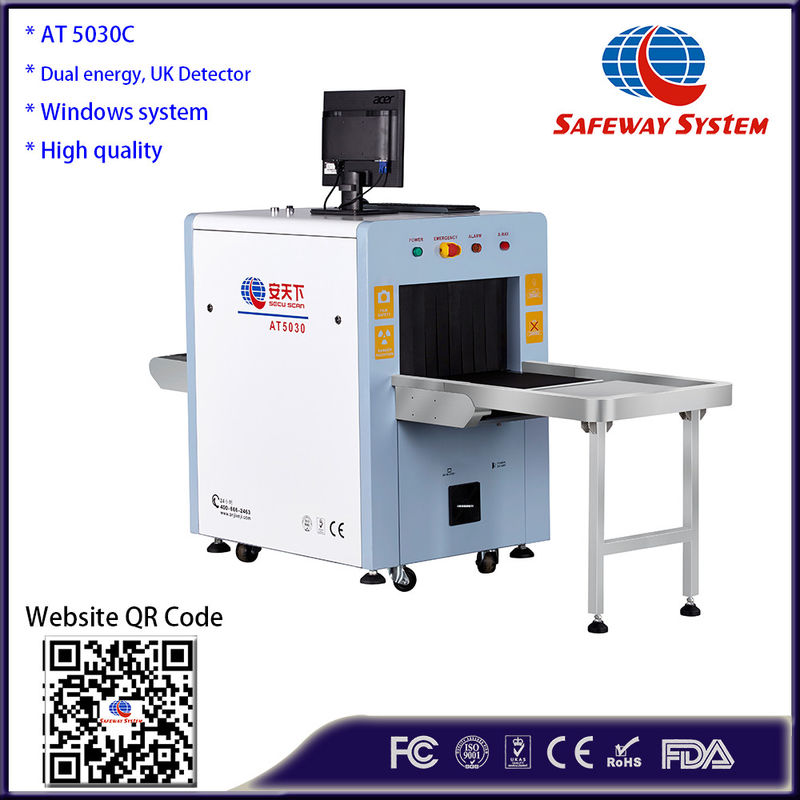 China Windows 7 System Airport Security X Ray Machine For Parcels140kv Generator AT5030c factory
