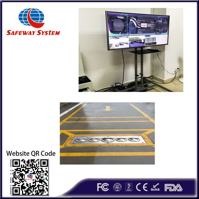 AT3300 Under Vehicle Video Surveillance System / Uvss System Embedded Installation Way