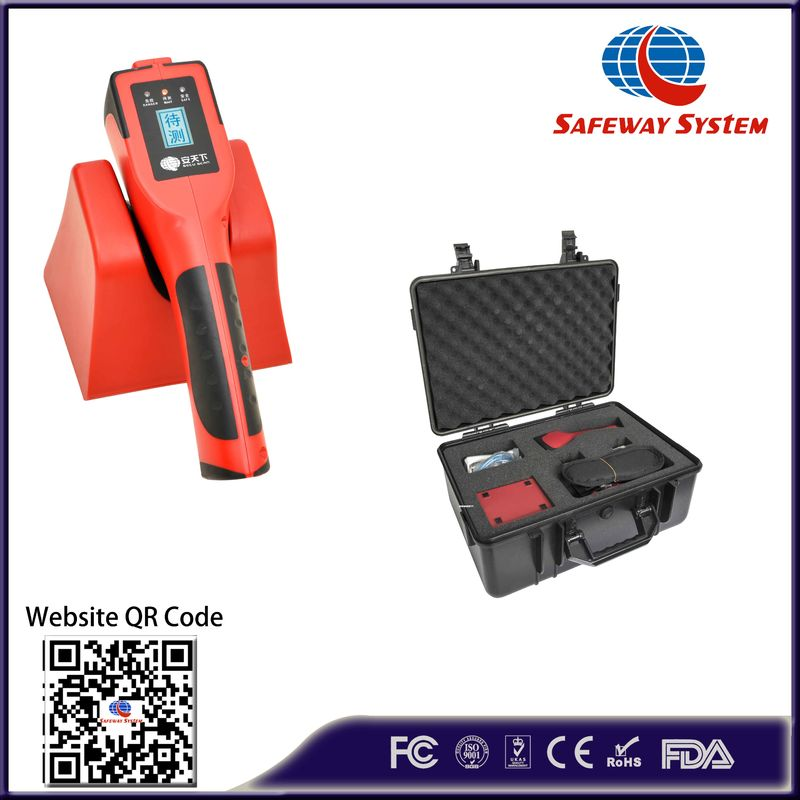 China High Sensitivity Dangerous Liquid Explosive Detector With USB Port No Radiation factory