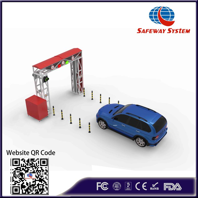 200kv Single Energy X Ray Vehicle And Cargo Inspection System With Windows System